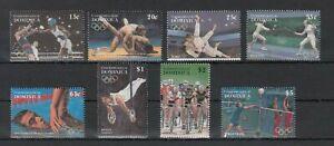 DOMINICA, 1995 Olympische Sommerspiele 1984-91 **, (33440)
