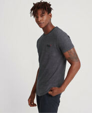Superdry Mens Orange Label Embroidery T-Shirt