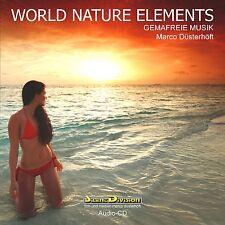 CD World Nature Elements Gemafreie Musik 50 min für Vertonung und Beschallung