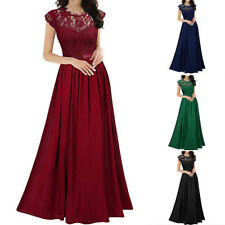 Women Chiffon Bridesmaid Formal Ball Gown Lady Party Cocktail Evening Prom Dress