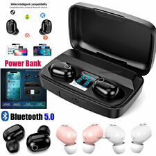 Bluetooth 5.0 Headsets Wireless Earphones Mini Double Earbuds Stereo Headphones