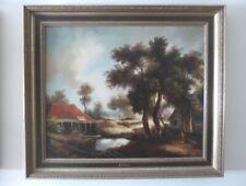 Grand Lot Peintures à l'huile (30 pcs/st) Groot Olies Lot * 30 Oil paintings