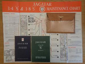 Jaguar S Type 3.4/3.8 Owners Handbook/Manual and Pack