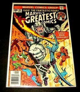 Marvel's Greatest Comics #65 (Sep 1976, Marvel) Inhumans Fantastic Four NM