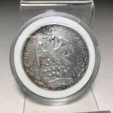 1897 MEXICAN EAGLE SILVER COIN 39MM