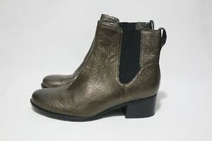 NATURALIZER Size 9.5 Womens Leather Glitzy Ankle Boots RRP $290
