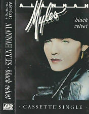 Alannah Myles Black Velvet CASSETTE SINGLE Blues Rock 1990 Atlantic A 8742C