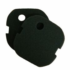 2 x AquaOne Aqua One AQUIS 700/750 and 500/550 Black Fine Foam Filter Pads