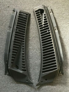 1999 2007 Ford F250 F350 Windshield Wiper Vent Cowl Screen Cover Panel LH and RH