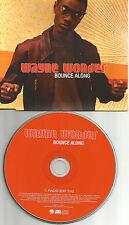 WAYNE WONDER Bounce Along w/ RARE EDIT EUROPE made PROMO CD single USA seller