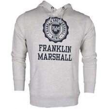 Felpe e tute da uomo grigie Franklin & Marshall in cotone