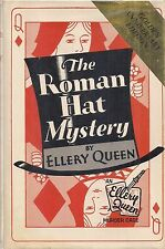 "ELLERY QUEEN ""The Roman Hat Mysery"" (1979) GOLDEN ANNIVERSARY EDITION"