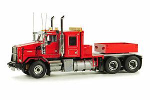 Kenworth C500B Truck with Ballast Box - Red - WSI 1:50 Scale Model #34-2000 New!
