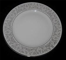 Rosenthal VENETIAN 3152 Salad Plate, Gray Leaves, Flowers