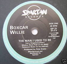 "BOXCAR WILLIE - The Man I Used To Be - Ex Con 7"" Single"