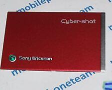NUOVO ORIGINALE Originale Sony Ericsson C902 ROSSO COPRIBATTERIA FASCIA