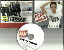FEFE DOBSON Everything w/RARE EDITS HOT AC PROMO DJ CD Single Scarlett Johansson
