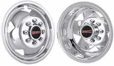 "2011-2018 Gmc 17"" wheel simulators Chrome Plated  Stainless with logos bolt on"