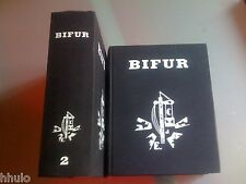 Revue BIFUR Complète Réédition 2 volumes Surrealisme Signé par Jacqueline Leiner