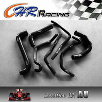 Holden Commodore VY V8 5.7L LS1 2002 2003 2004 silicone radiator hose BLACK