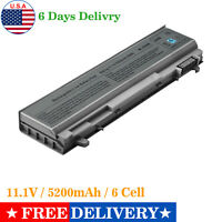 5200mAh Laptop Battery For Dell Latitude E6400 E6410 E6500 E6510 PT434 PT435