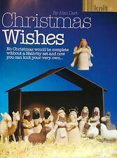 KNITTING PATTERN Alan Dart Christmas Wishes Nativity Angel Sheep Kings PATTERN
