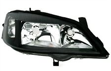 Para Opel Astra G 98-05 cristal claro frente principal faros negro derecho h7/hb3 -