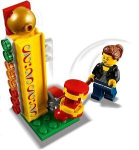 LEGO Funfair Working Strength Hammer Hit & Minifigure Train Town Scene Gift