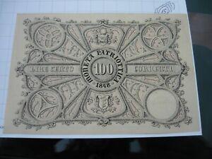 100 Lira 1848 Moneta Patriottica FDS