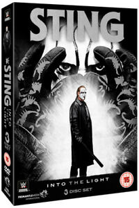 WWE: Sting - Into the Light DVD (2015) Sting cert 15 3 discs ***NEW***