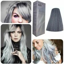 Berina A21 Silver Light Grey Silver Permanent Hair Dye Color Cream Styling