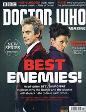 Doctor Who Magazine #490 Best Enemies Doctor vs Master Series Preview Oct 2015