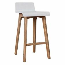 NEW Life Interiors Marina Bar Stool, White