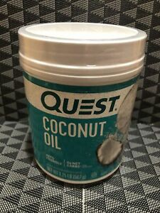 New/Sealed - Quest Nutrition Coconut Oil Powder - 16 Ounce - 11/2021