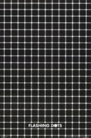 LOT OF 2 POSTERS : OPTICAL ILLUSION : FLASHING DOTS    FREE SHIP #3490   RC46 K