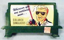 Plasticville Solarex Sunglasses Billboard O Scale 1950s Bachmann Vintage NICE