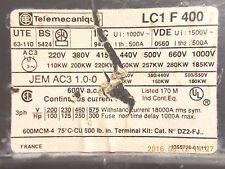 Telemecanique LC1F400 Contactor