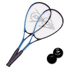 DUNLOP Squashset 2x Force Xtreme Ti Squashschläger + 1x Pro Squash Ball 2 Punkte