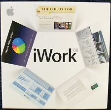 APPLE IWORK '08 FOR MAC ON CD W/ SERIAL NUMBER & MANUAL (MINT) SHIPS FREE    #28