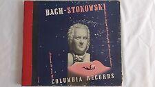 "BACH ""Bach - Stokowski"" Vol. II - Columbia Set #M-544"