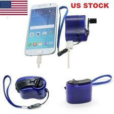 Portable Dynamo Hand Crank Generator USB Cellphone MP3 Phone Emergency Charger G