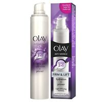 Olay Anti-Wrinkle Firm & Lift 2-In-1 Moisturiser And Anti-Ageing Primer - 50ml