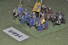 25 mm Medievale/inglese-Men at arms 8 Fichi CAVALLERIA-CAV (21836)
