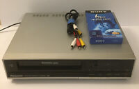 Vintage Panasonic Omnivision PV-3720 VCR VHS Player Recorder 1987- FOR PARTS