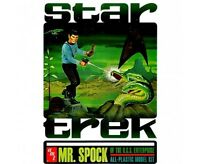 amt 624 Mr. Spock - Collector's Edition 1/12 model kit & tin new in the lunch ti