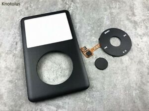 black front housing case cover click wheel button for iPod 6th gen classic 120gb