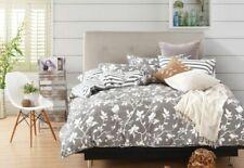 Swanson Beddings Leafy Vines 5-Piece 100 Cotton Bedding Set: Duvet Cover, Two