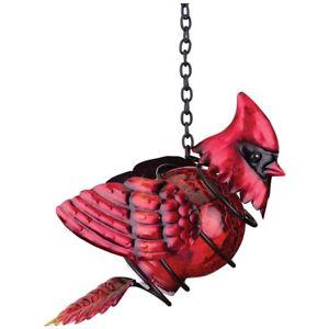 Cardinal Solar Lantern - Glows! Regal Art & Gift (Free Shipping) Great Gift!