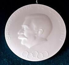 KPM Berlin Medaille Plakette Pierre de Coubertin Olympiade München 1972
