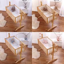 Clair de Lune Crib/Cradle 100% Cotton Nursery Bedding